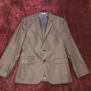 EXPRESS men's charcoal blazer. Size 40R